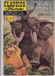 Classics Illustrated #97 (Jul-52) GD/VG Affordable-Grade