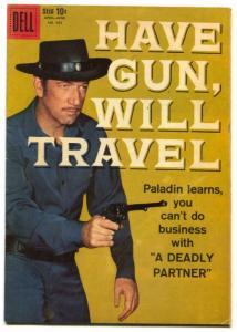 Have Gun Will Travel- Four Color Comics #983 1959- Richard Boone- VG