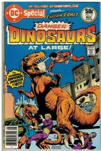 DC SPECIAL 27 VG-F May 1977 DINOSAURS AT LARGE - CAPT C