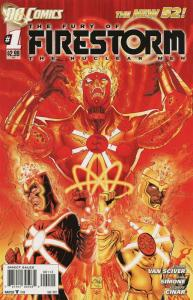Fury of the Firestorm: The Nuclear Men #1 (2nd) VF/NM; DC | save on shipping - d