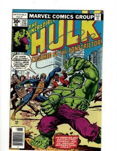 Lot of 10 Incredible Hulk Comics #212 213 214 215 216 217 218 219 220 221 GK18
