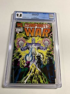 Infinity War 5 Cgc 9.8 White Pages Thanos