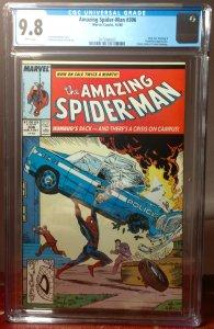 Amazing Spider-Man #306, Todd McFarlane Homage Cover to Superman CGC 9.8