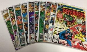 The Defenders 91 92 93 94 95 96 97 98 99 100 Vf Very Fine 8.0 Marvel Comics
