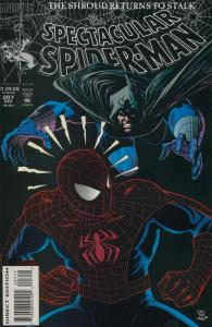 Spectacular Spider-Man, The #207 VF; Marvel | save on shipping - details inside