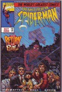Spider-Man, Peter Parker Spectacular #250 (Oct-97) NM+ Super-High-Grade Spide...