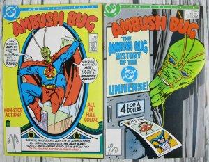 Ambush Bug #1 & #3 DC Comic 1985 Copper Age VF
