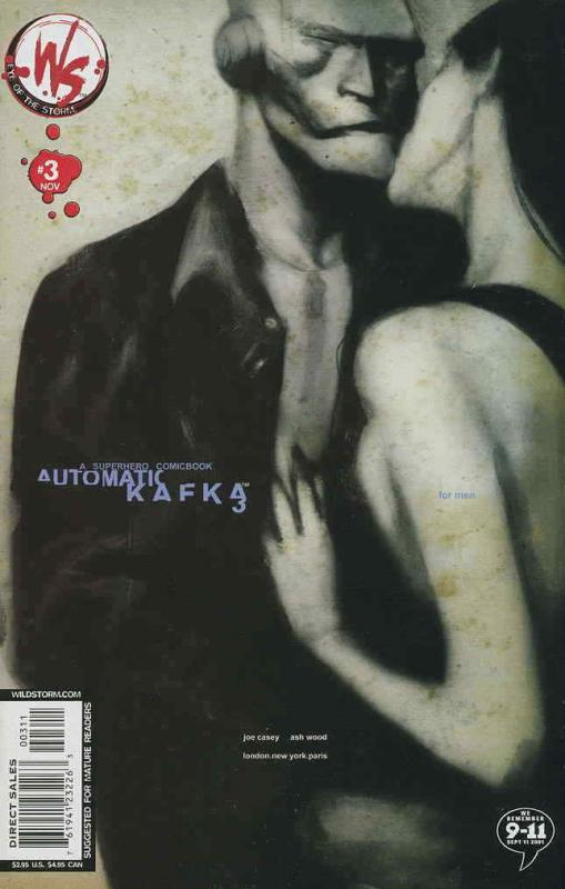 Automatic Kafka #3 VF/NM; WildStorm | save on shipping - details inside
