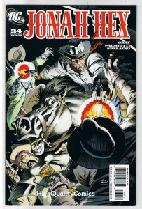 JONAH HEX #34, VF+, Gray, Palmiotti, Andy Kubert, 2006, more JH in store
