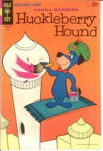 HUCKLEBERRY HOUND (1959-1970 DELL/GK) 34 VG-F COMICS BOOK