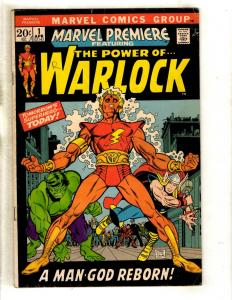 Marvel Premiere # 1 VG/FN Comic Book Feat. Warlock Thor Hulk Gil Kane FM3