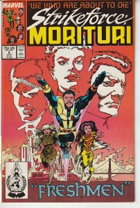 Strikeforce Morituri # 8  We Who Are About To Die !