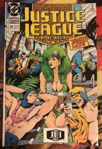 JUSTICE LEAGUE  #34, NM, Batman, DC, 1987 1990 more in store