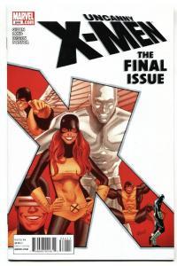 Uncanny X-Men #544-Last issue-Marvel comic book NM-