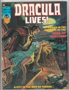 Dracula Lives #10 (Sep-73) VF High-Grade Dracula