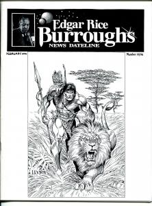 Edgar Rice Burroughs News Dateline #55/56 1996-Tarzan-comics-books-pulps-VF