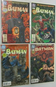 Batman glow in the dark covers 4 difference 9.4 NM (1996)