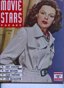 Movie Stars Parade-Judy Garland-Maureen O'Hara-Roy Rogers-Oct-1944