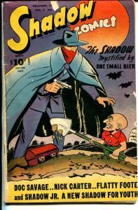 Shadow Vol. 6 #9 1946-Shadow Jr-Nick Carter-graveyard horror-Doc Savage-VG-