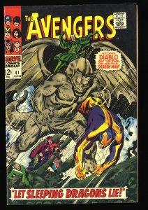 Avengers #41 VF- 7.5
