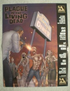 PLAGUE OF THE LIVING DEAD Promo Poster, 2007, Unused, more in our store