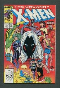 Uncanny X-Men #253  / 9.6 NM+  /  November 1989
