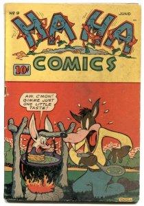 Ha Ha #9 1944-ACG Golden Age-Ken Hultgren- VG