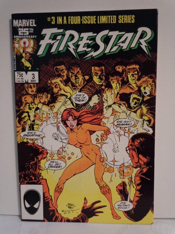 Firestar- 4 Issue Mini-Series