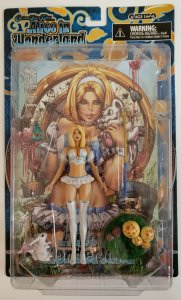 Alice In Wonderland Zenescope Grimm Fairy Tales Action Figure White By CS Moore