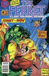 Ferret, The (2nd Series) #4A VF/NM; Malibu | save on shipping - details inside