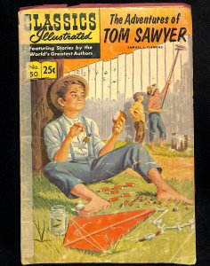 Classics Illustrated  #50