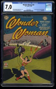 Wonder Woman #34 CGC FN/VF 7.0 Off White