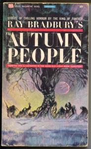 Ray Bradbury's Autumn People #v2141 1965-Frank Frazetta-Jack Davis-Kamen-VG
