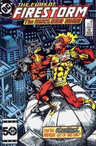 Fury of Firestorm (1982 series) #39, VF- (Stock photo)