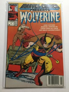 Marvel Comics Presents 5 Near Mint Nm Wolverine Newsstand Edition Marvel