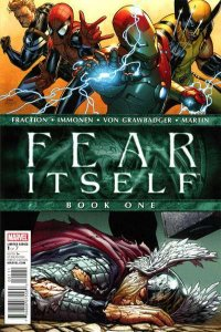 Fear Itself #1, NM (Stock photo)