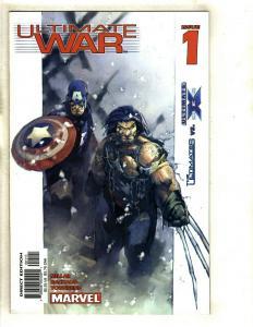 11 Comics Ult War 1 2 3 4 Wolv v Hulk 1 2 3 X4 1 Civil 1 Spider 56 Force 16 EK13