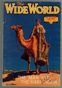 Wide World 10/1937-British-ppulp stories-pirates Modern Crusoe-VG