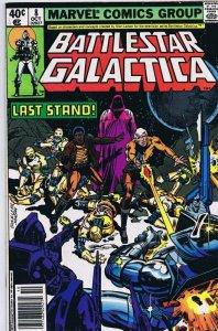 Battlestar Galactica #8 ORIGINAL Vintage 1979 Marvel Comics