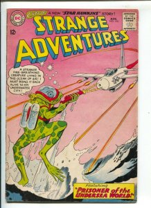Strange Adventures #155 1963-Frog man attack cover-Star Hawkins appears-G-