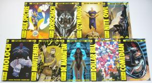 Before Watchmen set of (9) VF/NM comedian dr manhattan rorschach - all #1's lot