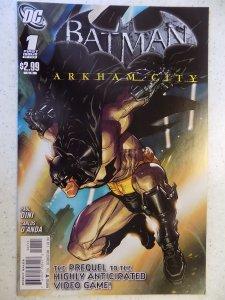 Batman: Arkham City #1 (2011)