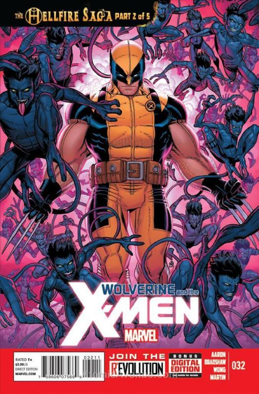 Wolverine & The X-Men #32 VF/NM; Marvel | save on shipping - details inside