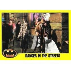 1989 Batman The Movie Series 2 Topps DANGER IN THE STREETS #156