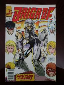 Brigade (1st Series) 1992 Rob Liefeld Newsstand Variant