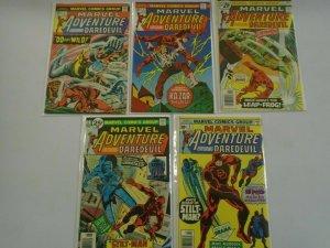Marvel Adventure featuring Daredevil run:#2-6 avg 6.0 FN (1976)