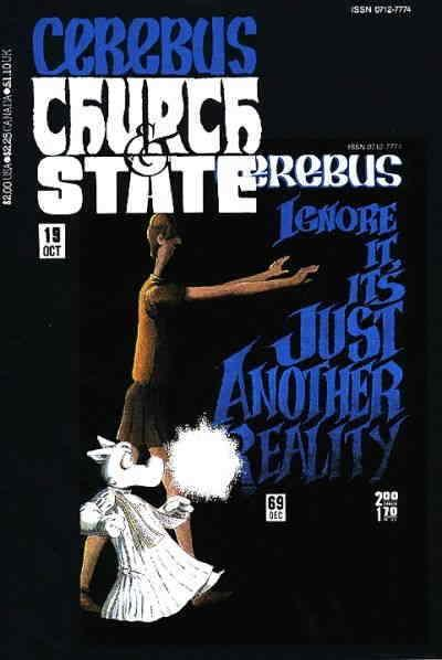 Cerebus: Church & State #19 VF/NM; Aardvark-Vanaheim | save on shipping - detail