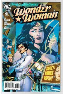WONDER WOMAN #6, Love and Murder, Good Girl, 2006, NM-, more WW in store