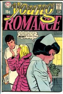 YOUNG ROMANCE #161 1969-DC ROMANCE-NURSE COVER VG/FN