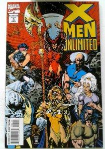 X-Men Unlimited #5 Marvel 1994 NM- 1st Printing Comic Book